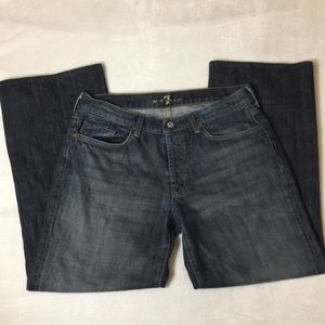 7 For All Mankind Relaxed Leg Jeans Size 33